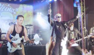 Heino und seine Volksmusik-Metaller: Stefan Mross und Patrick Lindner. (Foto)