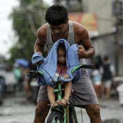 «Hagupit» verschont Manila - Millionen brauchen aber Hilfe (Foto)