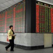 Börse in Shanghai erlebt größten Absturz seit fünf Jahren (Foto)