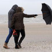 Orkantief «Alexandra» bringt schwere Sturmböen (Foto)