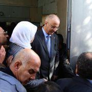 Palästinensischer Minister stirbt nach Gerangel mit Soldaten (Foto)