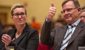Linke und Grüne in Thüringen wählen neue Fraktionschefs (Foto)