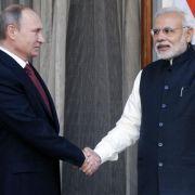 Russland liefert mehr Gas und Atomtechnik nach Indien (Foto)