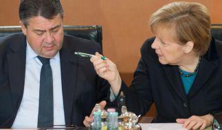 Merkels «SPD-Bashing» belastet die Koalition (Foto)
