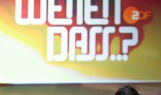 Er hat es hinter sich: Markus Lanz bei der letzten Wetten, dass..?-Ausgabe. (Foto)