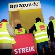 Bisher größter Streik trifft Amazon im Weihnachtsgeschäft (Foto)
