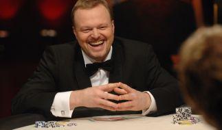TV Total Pokerstars.de Nacht 2014: Hat Stefan Raab auch diesmal gut lachen? (Foto)