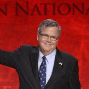 Jeb Bush stellt Kandidatur bei US-Präsidentschaftswahlen in Aussicht (Foto)