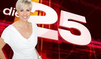 Sonja Zietlow präsentiert Die 25 stärksten Fernsehmomente 2014. (Foto)