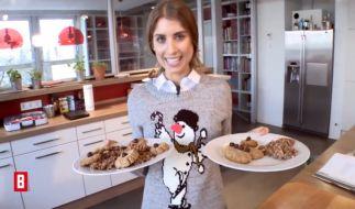 Cathy Fischer backt vegane Weihnachtsplätzchen - lecker oder peinlich? (Foto)