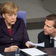Merkel bleibt gegenüber Moskau hart (Foto)