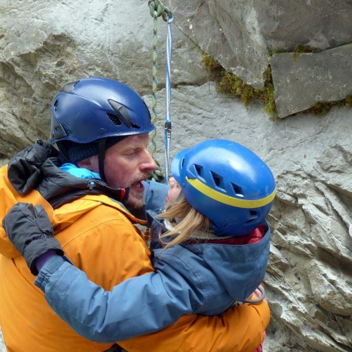 Kletter-Einsatz entwickelt sich zur Katastrophe (Foto)