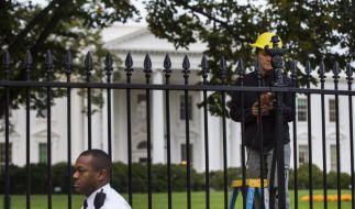 Gutachter: Weißes Haus braucht höheren Schutzzaun (Foto)