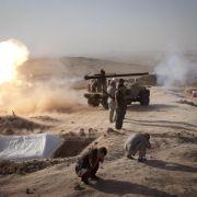 Kurden befreien von IS-Kämpfern belagerte Jesiden (Foto)