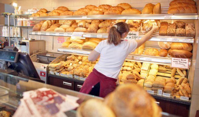 Süße Schweinerei in der Bäckerei