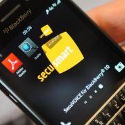 Blackberry schließt Übernahme des «Merkel-Phone»-Anbieters ab (Foto)