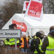 Verdi verlängert Amazon-Streiks und klagt gegen Sonntagsarbeit (Foto)