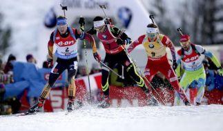 Die Wettkämpfe beim Biathlon-Weltcup 2014 im slowenischen Pokljuka versprechen Spannung pur. (Foto)