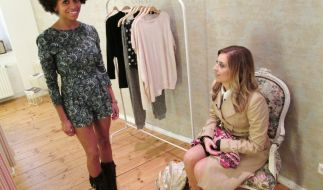 Aimee rastet bei der letzten Folge Shopping Queen 2014 völlig aus. (Foto)