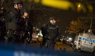 Zwei Polizisten in New York erschossen (Foto)