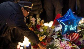 New Yorker gedenken der Opfer des Polizistenmörders (Foto)