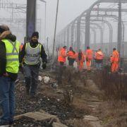 Anschlag auf Hochgeschwindigkeitsstrecke in Italien (Foto)