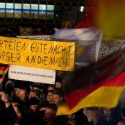 Schäuble: «Pegida»-Demos Folge von Fehlern in der Politik (Foto)
