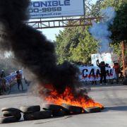 Schwere Krawalle bei Demonstration gegen Nicaraguakanal (Foto)
