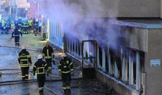 Schweden: Mehrere Verletzte bei Brandanschlag auf Moschee (Foto)