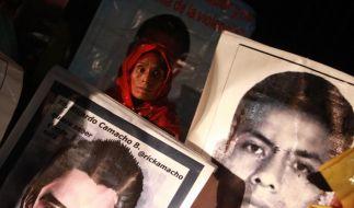 Mexikaner protestieren gegen Waffenlieferungen aus Deutschland (Foto)