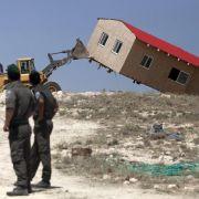Israels oberstes Gericht beschließt Abriss illegaler Siedlung (Foto)
