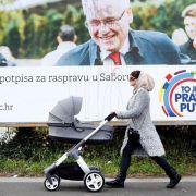 EU-Mitglied Kroatien wählt neues Staatsoberhaupt (Foto)