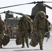 Nato beendet mit Zeremonie Kampfeinsatz in Afghanistan (Foto)
