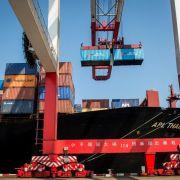 China senkt Ziel für Außenhandel (Foto)