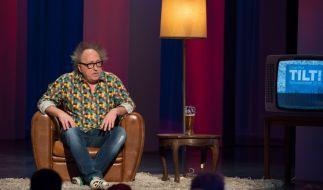 Urban Priol sagt in seiner ZDF-Sendung Tilt! Tschüssikowski 2014. (Foto)