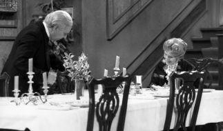 Auch 2014 gehört Dinner for One zum Silvesterprogramm im TV. (Foto)