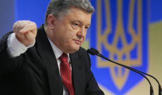 Poroschenko plant Gipfeltreffen zum Ukraine-Konflikt (Foto)