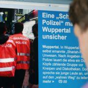 Scharia-Polizei versetzt Deutsche in Angst und Schrecken (Foto)