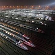 Mega-Fusion in China: Zughersteller wollen Weltmarkt erobern (Foto)