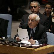 Nahost-Resolution scheitert im UN-Sicherheitsrat (Foto)