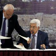Resolution gescheitert: Palästinenser treten Gerichtshof bei (Foto)