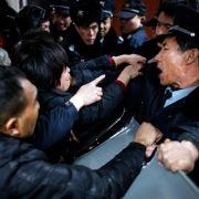 Silvesterpanik in Shanghai: 36 Menschen totgetrampelt! (Foto)