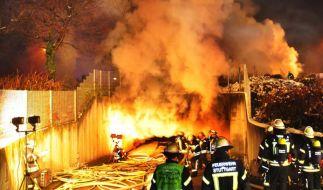 39 Verletzte bei Feuer in Stuttgarter Tiefgarage (Foto)