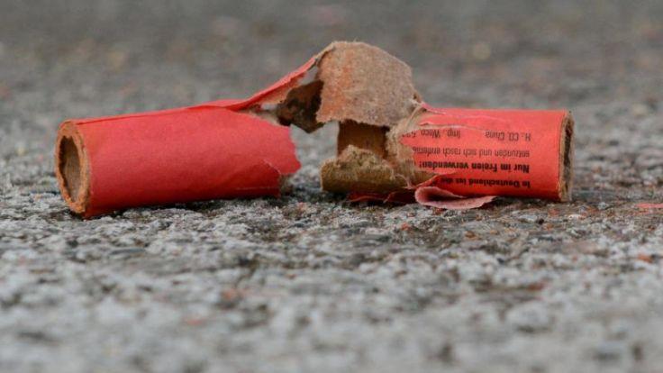 Tote, Verletzte und Brände durch Feuerwerk in Deutschland (Foto)