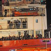 Erneut «Geisterschiff» mit Flüchtlingen im Mittelmeer (Foto)