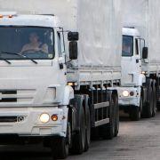 Russland schickt elften Hilfskonvoi in Ostukraine (Foto)