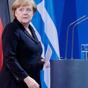 «Spiegel»: Merkel hält Athens Euro-Austritt für verkraftbar (Foto)
