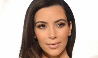 So kennt man Kim Kardashian üblicherweise. (Foto)