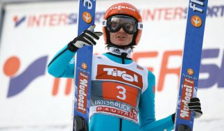 Richard Freitag hat den deutschen Skispringern den ersten Tagessieg bei der Vierschanzentournee seit gut zwölf Jahren beschert. (Foto)