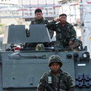 Panzer in Bangkok - Militär beruhigt: kein neuer Putsch (Foto)